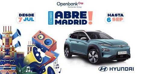 """Hyundai será colaborador oficial de """"Abre Madrid"""""""