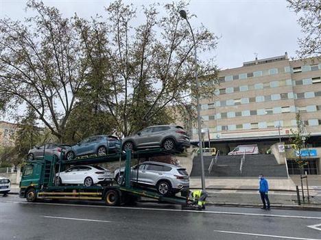 Hyundai cede su flota de vehículos a varios hospitales de la Comunidad de Madrid