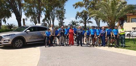 Servicio gratuito de protección de Hyundai para los clubes ciclistas