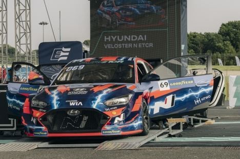 El Pure ETCR marca el comienzo de la era electrificada en Hyundai