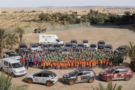 """Hyundai finaliza la 15ª Edición de """"El desierto de los niños"""""""