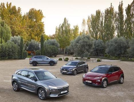La amplia gama SUV de Hyundai