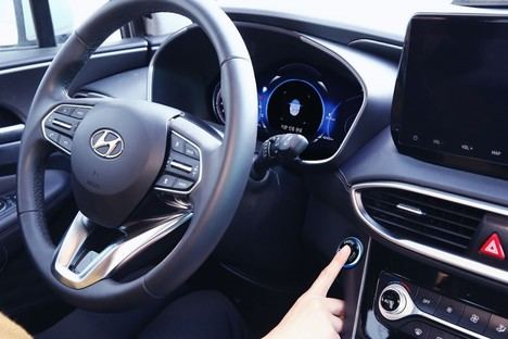 Hyundai Motor desvela la primera Tecnología inteligente de huellas dactilares para vehículos