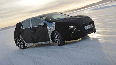 El Hyundai i30 N realiza pruebas invernales