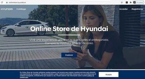 Lanzamiento de la ONLINE STORE de Hyundai