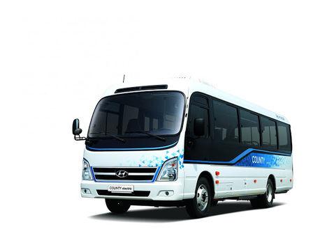 Hyundai lanza el minibús County Electric