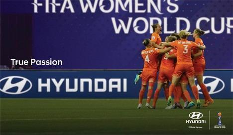 Hyundai patrocina el mundial de fútbol femenino