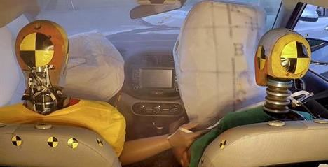 Hyundai presenta el primer sistema de airbag de colisión múltiple
