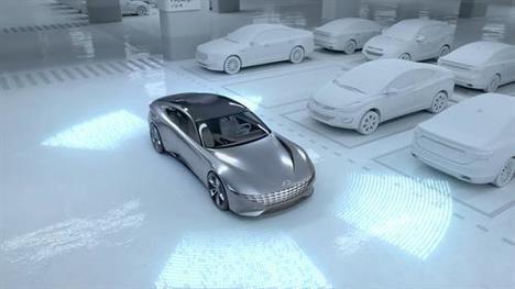 Concepto innovador de Hyundai para la carga de vehículos eléctricos