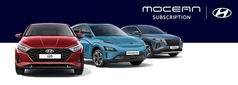 Hyundai amplía su nuevo servicio Mocean Suscripción a Reino Unido