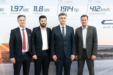 Hyundai Motor Group y Rimac reiteran la importancia de su asociación estratégica