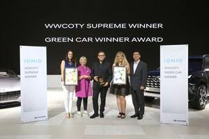 Hyundai IONIQ galardonado con el Premio Supremo Mundial de Mujeres del Año