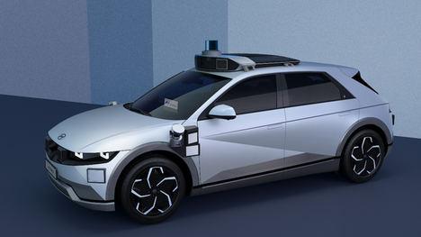 Hyundai y Motional presentan el Ioniq 5 Robotaxi