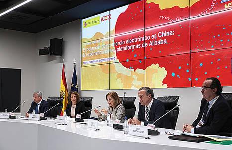 ICEX muestra las oportunidades del comercio electrónico en China a través de Alibaba