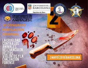 I Congreso Internacional de Violencia hacia los Animales en España