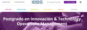 IEBS presenta InnovaTech, un programa e-Logistics para el desarrollo de la industria 4.0
