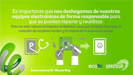 127 organizaciones de 51 países elevan el perfil del problema de los residuos electrónicos