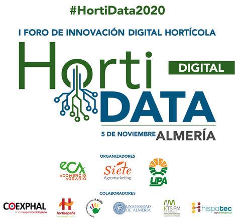 Almería acogerá en formato híbrido el 5 de noviembre el I Foro Horti DATA 2020