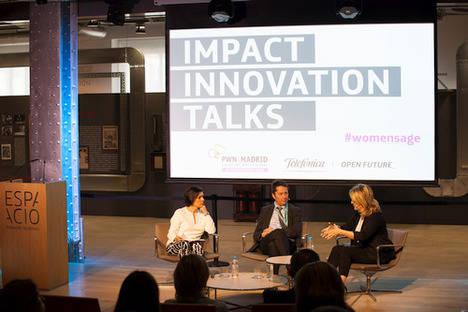 """""""Impact Innovations Talks"""" incorpora por primera vez a científicos al debate sobre el emprendimiento femenino"""