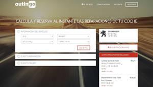 Autingo, la plataforma para calcular y reservar al instante las reparaciones del coche en talleres de confianza