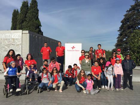 """Arranca el """"Programa de deporte anual para jóvenes con discapacidad"""" que organiza Fundación Deporte & Desafío, galardonado con el Premio al Valor Social otorgado por Fundación Cepsa"""