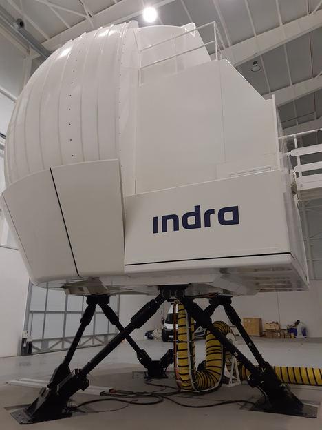 Centro de Simulación de Helicópteros del Ejército de Tierra: 50.000 horas de vuelo en simuladores de Indra