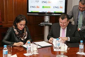 ING y ONCE colaboran para fomentar la accesibilidad de la banca