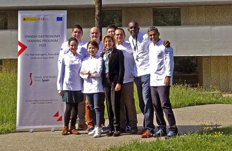 ICEX presenta el I Programa de Formación en Gastronomía Española dirigido a cadenas hoteleras internacionales de prestigio