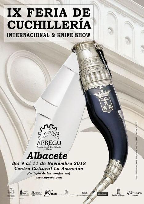 IX Edición de la Feria de Cuchillería Internacional & Knife Show en Albacete del 9 al 11 de noviembre
