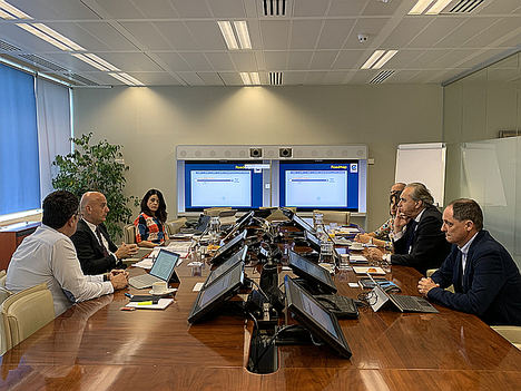 Iacopo Prissinotti, director del Network Manager, visita ENAIRE