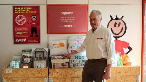 Sqrups! un modelo de negocio que ofrece una segunda oportunidad a los productos de primeras marcas