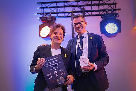 Germark, primera empresa española en ganar un premio de la World Label Association, considerados los Oscars del sector de las etiquetas