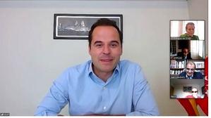 Ignacio Aguado, en la reunión con CEPES.