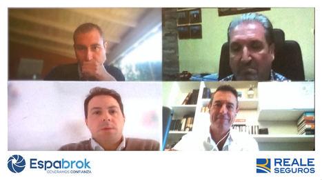 Ignacio Mariscal CEO de REALE SEGUROS analiza la situación actual con la RED ESPABROK