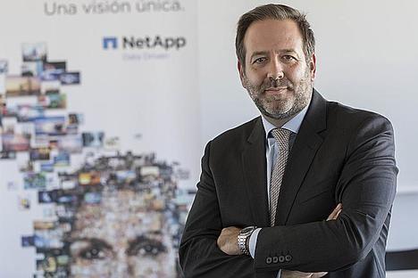 Ignacio Villalgordo Castro, nuevo Director General de NetApp para España
