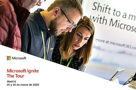 Microsoft Ignite The Tour, el evento técnico estrella de la compañía, llega por primera vez a España