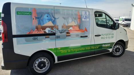 Europcar España apuesta por la personalización de sus furgonetas