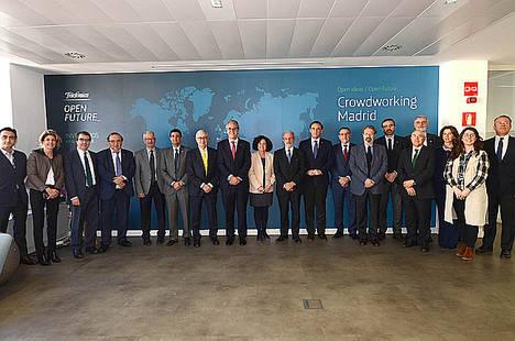 Los espacios de aceleración de startups de Telefónica Open Future_ reciben la visita de la Conferencia de Rectores de las Universidades Españolas