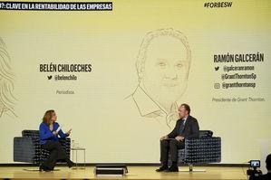 Belén Chiloeches y Ramón Galcerán.