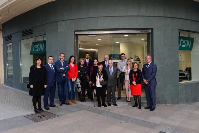 Psn inaugura sus nuevas oficinas de vitoria y bilbao for Oficinas vitoria