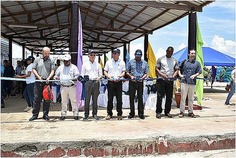 Inauguración centro tecnológico y experimental de peces Caribbean Pearl