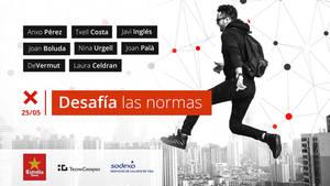 Influencers y emprendedores desafiarán las normas en la II edición de TEDxUPFMataró