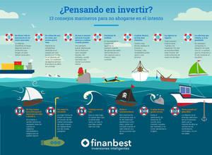 ¿Pensando en invertir? 13 consejos marineros para no ahogarse en el intento