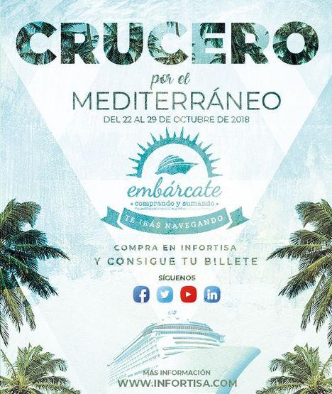 Infortisa premia a sus clientes con un crucero por el Mediterráneo