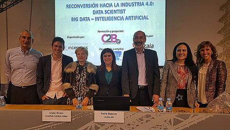 Ingenieros BIZKAIA presenta el curso 'Hacia la Industria 4.0: Big Data e Inteligencia Artificial'