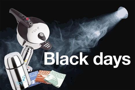 Del 25 al 30, Black Days de menaje de cocina en Inoxibar.com