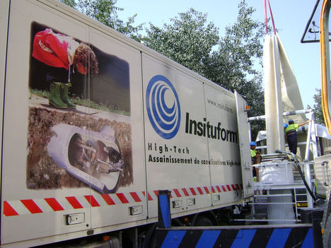 Insituform revoluciona el sector de las tecnologías sin zanja a través del innovador sistema con manga CIPP
