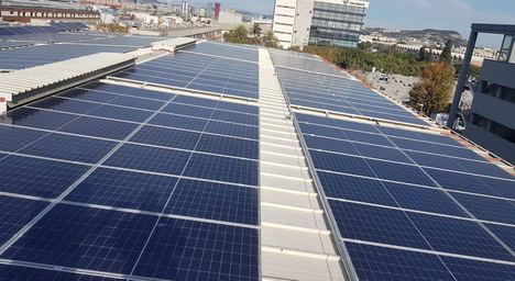 Instalación Solar, IKERAHH Mercabarna.