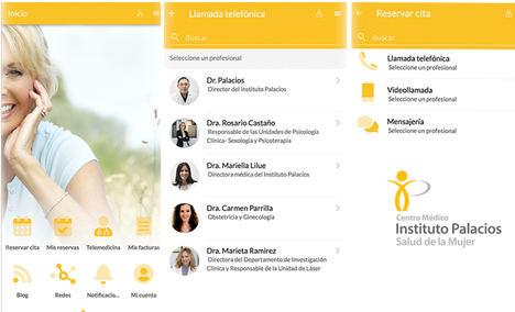 El Instituto Palacios presenta su nueva app de telemedicina