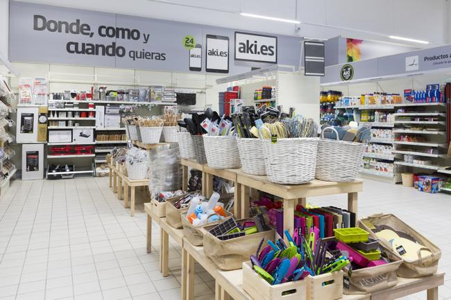 Aki bricolaje llega al centro comercial islazul de madrid for Centro comercial aki piscinas precio